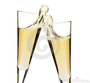 beifall-zwei-champagnergläser-17143388